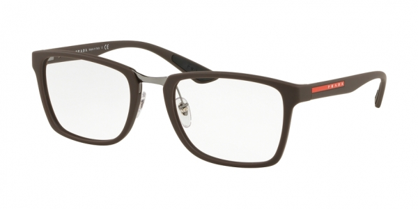 PRADA LINEA ROSSA PS 06LV ACTIVE style-color VYY1O1 Brown Rubber