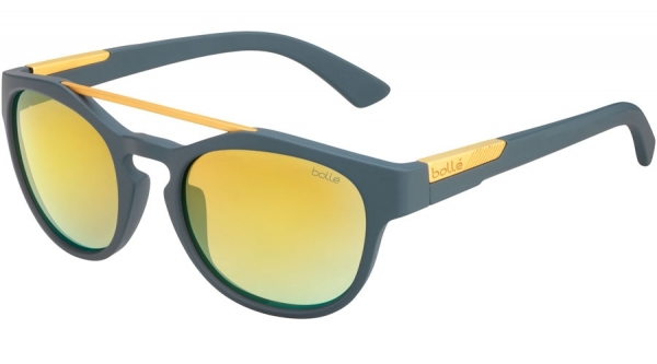 BOLLE BOXTON style-color 12512 MATTE COOL GRAY / BROWN GOLD
