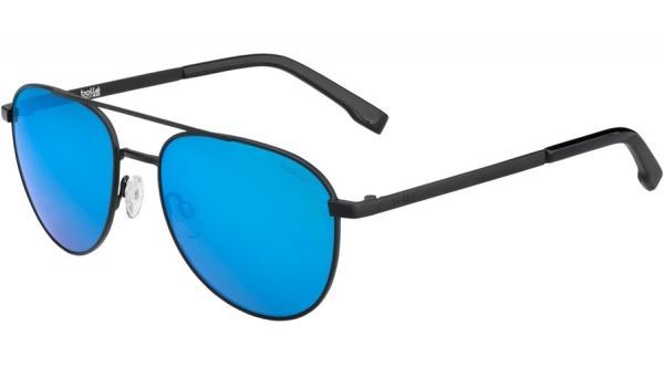 BOLLE EVEL style-color 12536 MATTE BLACK / HD POLARIZED OFFSHORE BLUE