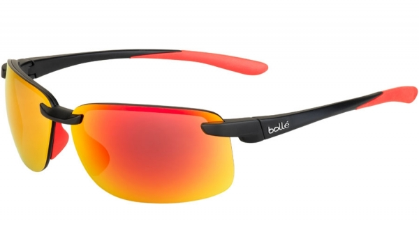 BOLLE FLYAIR style-color 12419 MATTE BLACK/RED / TNS FIRE