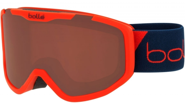 BOLLE ROCKET SKI & SNOWBOARD GOGGLES style-color 21769 Matte Red Race / Rosy Bronze