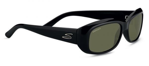 SERENGETI BIANCA style-color 7364 SHINY BLACK / MINERAL POLARIZED 555NM