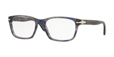 PERSOL PO3012V style-color 1083 Stripped Grey