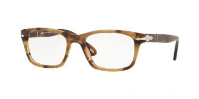 PERSOL PO3012V style-color 1085 Stripped Brown