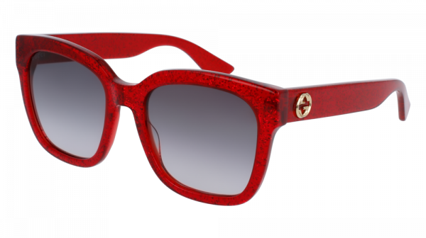 GUCCI GG0034S style-color Red 006