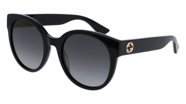 GUCCI GG0035S style-color Black 001 / Grey Gradient Lens