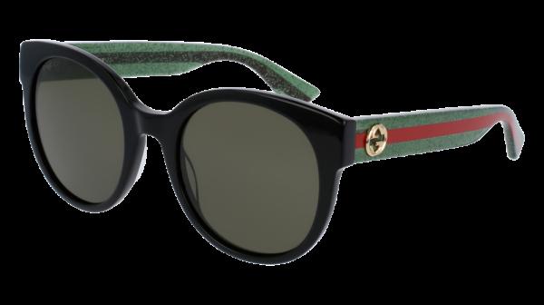 GUCCI GG0035S style-color Black/GREEN 002 / Green None Lens