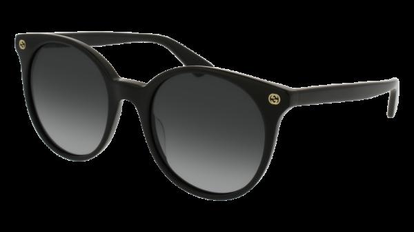 GUCCI GG0091S style-color Black 001 / Grey Gradient Lens