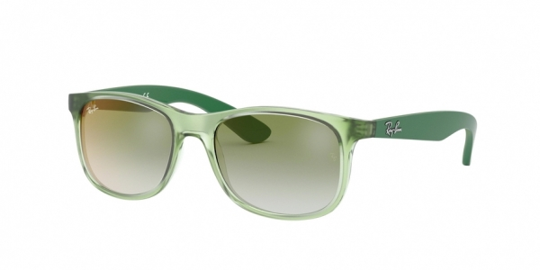RAY-BAN RJ9062S style-color 7053W0 Trasparent Green