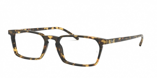 RAY-BAN RX5372 style-color 5879 Havana Yellow