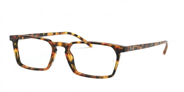 RAY-BAN RX5372 style-color 5880 Havana Red