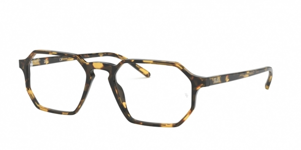 RAY-BAN RX5370 style-color 5879 Havana Yellow