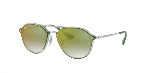 RAY-BAN RJ9067SN style-color 7053W0 Trasparent Green