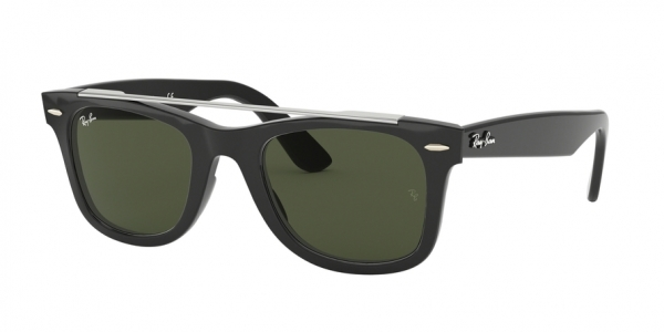 RAY-BAN RB4540F WAYFARER ASIAN FIT style-color 601/31 Black