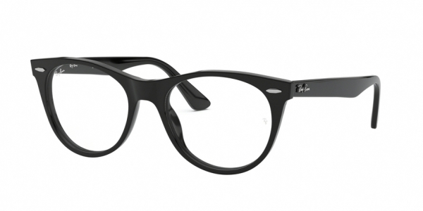 RAY-BAN RX2185VF ASIAN FIT style-color 2000 Black