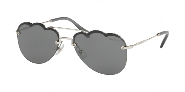 MIU MIU MU 56US CORE COLLECTION style-color 1BC175 Silver