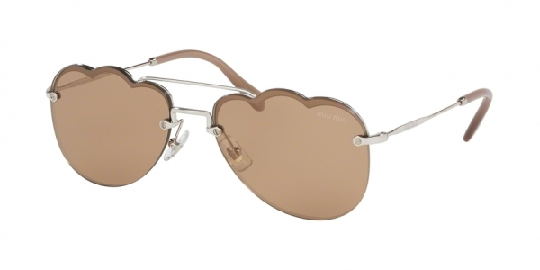 MIU MIU MU 56US CORE COLLECTION style-color 1BC176 Silver