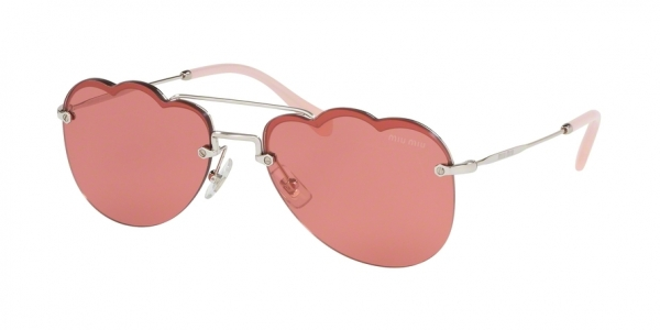 MIU MIU MU 56US CORE COLLECTION style-color 1BC177 Silver