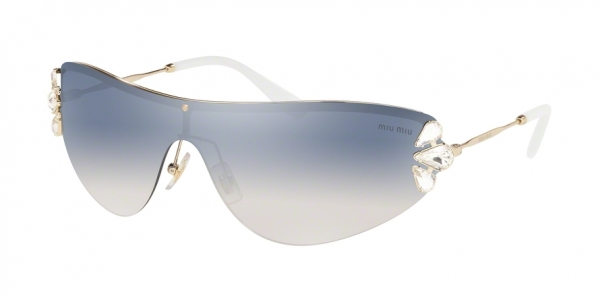 MIU MIU MU 66US CORE COLLECTION style-color ZVN5R0 Pale Gold