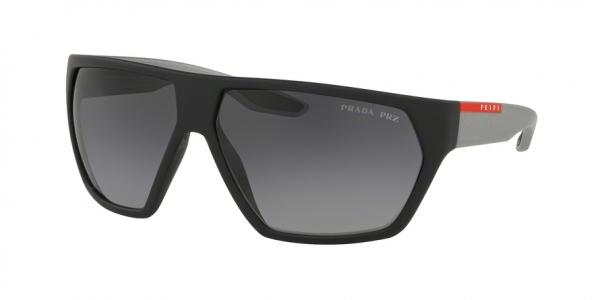 PRADA LINEA ROSSA PS 08US ACTIVE style-color 4535W1 Black Rubber