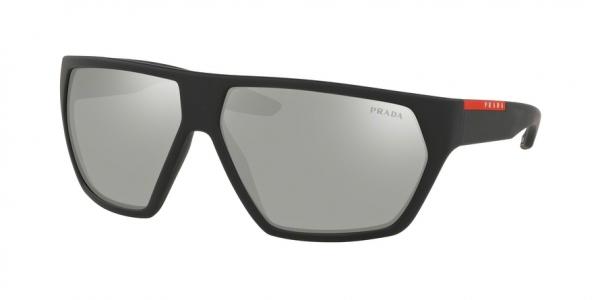 PRADA LINEA ROSSA PS 08US ACTIVE style-color DG02B0 Black Rubber