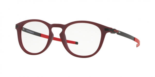 OAKLEY PITCHMAN R OX8105 style-color 810516 Satin Brick Red