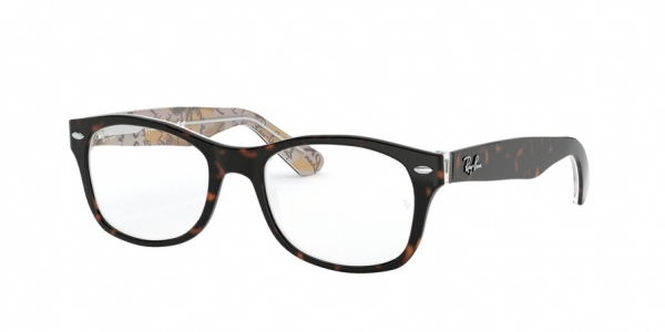 RAY-BAN RY1528 style-color 3802 Havana ON Texture Pink Brown
