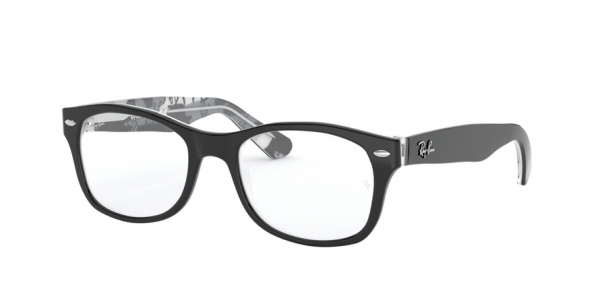 RAY-BAN RY1528 style-color 3803 Black ON Texture Grey Black