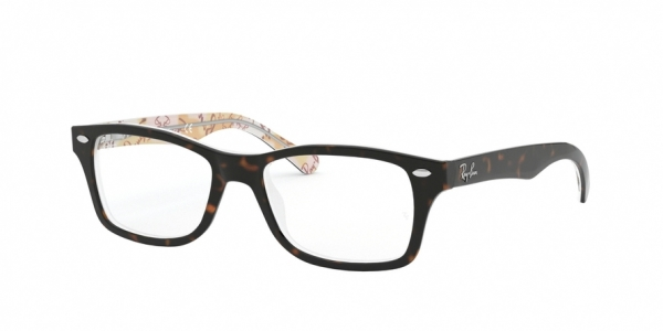 RAY-BAN RY1531 style-color 3802 Havana ON Texture Pink Brown