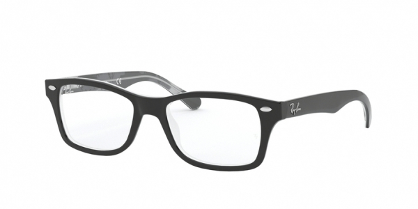 RAY-BAN RY1531 style-color 3803 Black ON Texture Grey Black