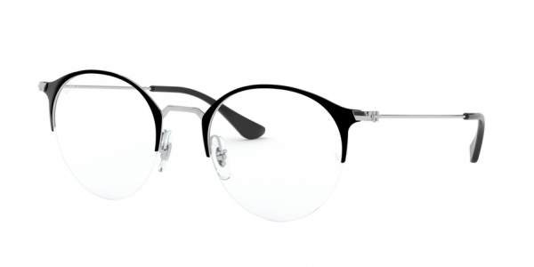 RAY-BAN RX3578V style-color 2861 Top Black ON Silver
