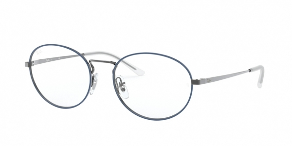 RAY-BAN RX6439 style-color 2981 Top Blue ON Gunmetal