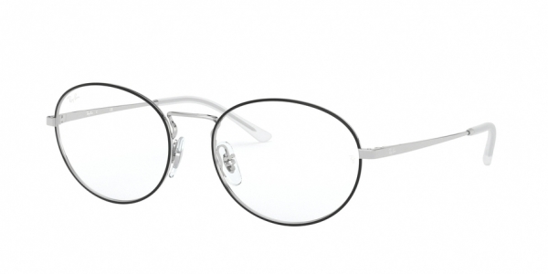 RAY-BAN RX6439 style-color 2983 Top Black ON Silver