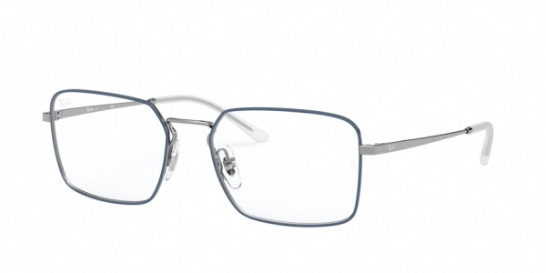 RAY-BAN RX6440 style-color 2981 Top Blue ON Gunmetal