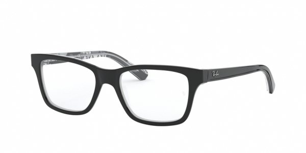 RAY-BAN RY1536 style-color 3803 Black ON Texture Grey Black