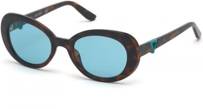 GUESS GU7632 37475 style-color 52V Dark Havana / Blue