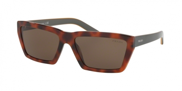 PRADA PR 04VS CONCEPTUAL style-color 5258C1 Spotted Light Brown