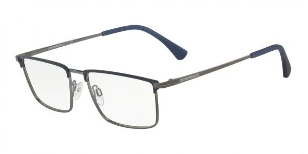 EMPORIO ARMANI EA1090 style-color 3228 Matte Blue / Matte Gunmetal