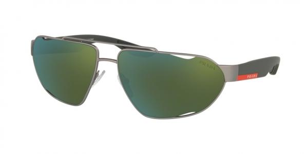 PRADA LINEA ROSSA PS 56US ACTIVE style-color DG13C0 Gunmetal Rubber