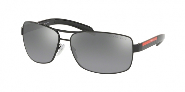 PRADA LINEA ROSSA PS 54IS style-color 1AB2F2 Black