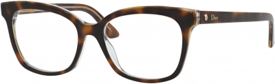 DIOR MONTAIGNE 37 style-color Havana Crystal 0G9Q