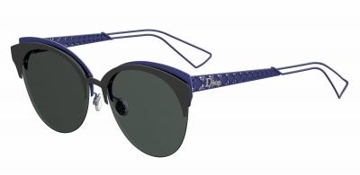 DIORAMACLUB style-color Matte Black Blue 0G5V / Gray Ar 2K Lens