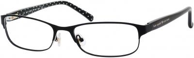 KATE SPADE AMBROSETTE US style-color Shiny Black Dot 0006