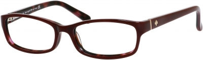 KATE SPADE NARCISA style-color Dark Red Pink Tortoise 0W73