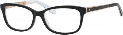 KATE SPADE ANGELISA style-color Black White 0S0T