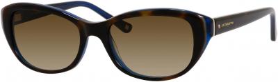 LIZ CLAIBORNE 561/S style-color Havana Blue 0DW2/CC