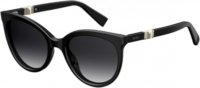 MAX MARA JEWEL II/S style-color Black 0807 / dark gray gradient lens