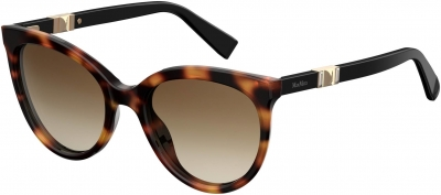 MAX MARA JEWEL II/S style-color Dark Havana 0086 / brown gradient lens