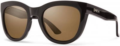 SMITH SIDNEY style-color Shiny Black (F1 brown polarized lens) 0D28/F1