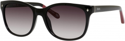 FOSSIL FOS 3006/S style-color Black 0D28/Y7 / Gray Gradient Lens